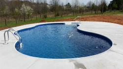 This pool was installed by Master Pool Service, Inc. in March of 2015.